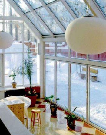 Оцинкована підсистема. Зимові сади