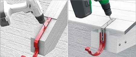 Водостічна система-інструкція по монтажу. Тримачі для водостоків: правила вибору і установки кронштейнів під ринву інструкція з монтажу водостічної системи