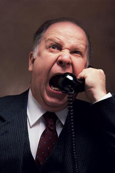 Як реагувати на крики і гнів начальника. Правила життя