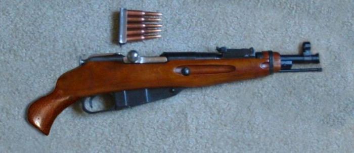 Гвинтівка трилінійка. Трилінійна гвинтівка мосіна