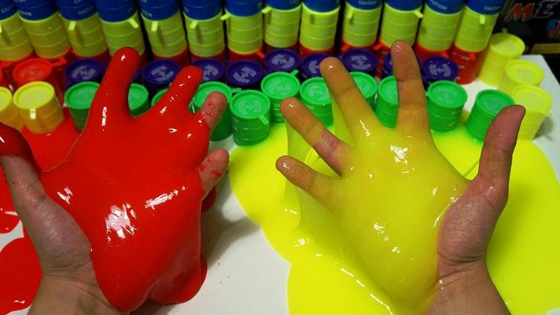 Як зробити лизуна з хлоргексидину. Робимо лизуна прості способи