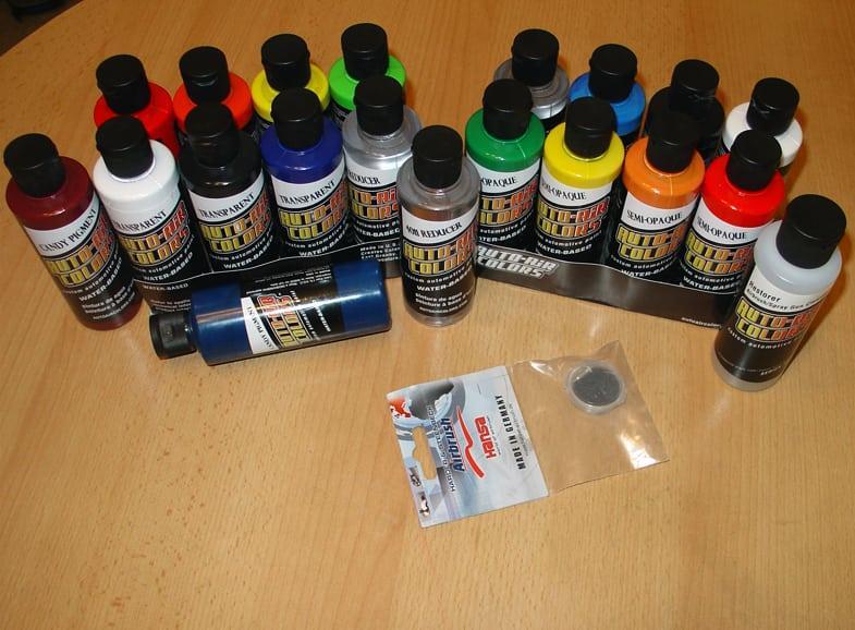 Як фарбувати аерографом акриловими фарбами. Як малювати за допомогою аерографа? що це за пристрій
