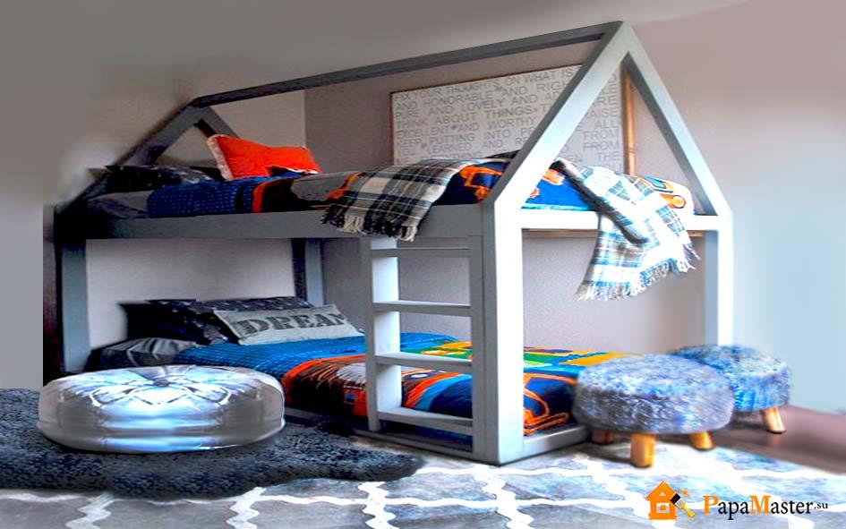 Як зробити своїми руками дитяче ліжко, всі нюанси процесу. Дитяче ліжечко своїми руками: майстер-клас з кресленнями і фото ліжко будиночок своїми руками схема