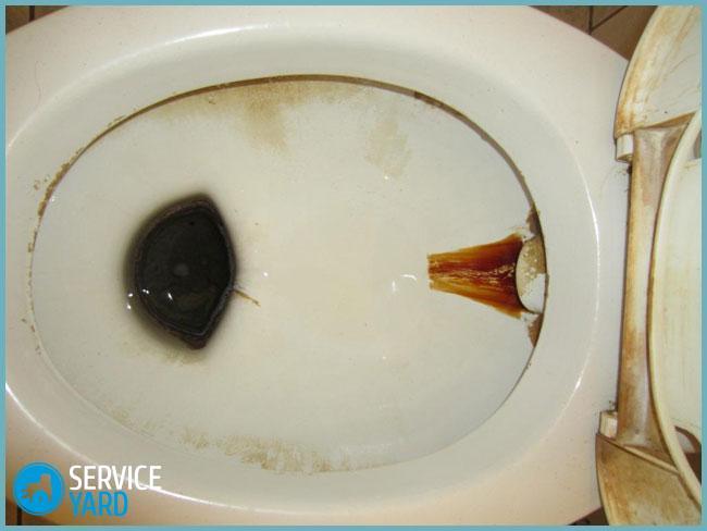 Чим швидко відмити іржу в унітазі? як очистити унітаз від іржі, сечового каменю і вапняного нальоту? чим відмити стару іржу в унітазі.
