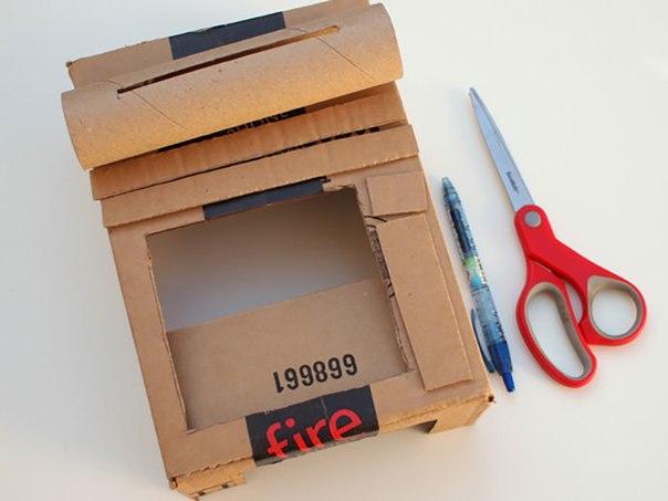 Як зробити касу своїми руками для грошей. Як зробити касу з картонної коробки своїми руками