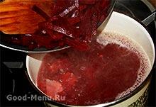 Як приготувати червоний борщ з буряком і капустою. Як зварити борщ, щоб він був червоним і зберігав колір