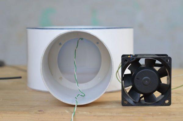 Як самому зробити канальний вентилятор. Потужний вентилятор своїми руками
