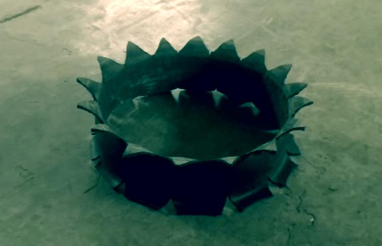 Як вивернути покришку для клумби без диска. Як самостійно зробити оригінальну клумбу з коліс? як зробити клумбу з шини своїми руками